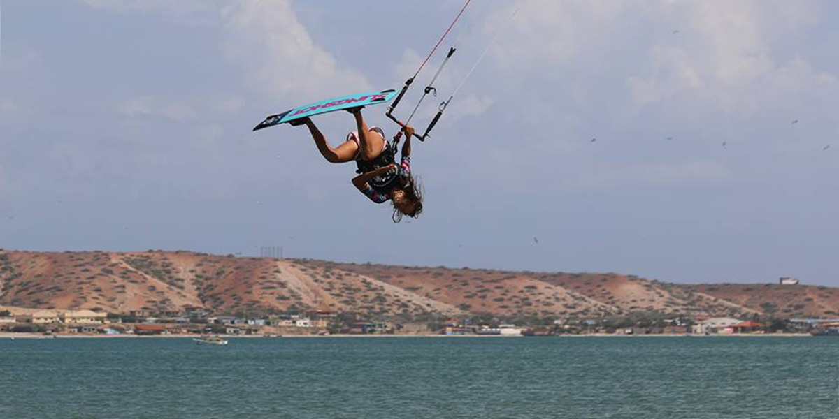 Wakeboarding and Kiteboarding Sessions with Rocio Campos