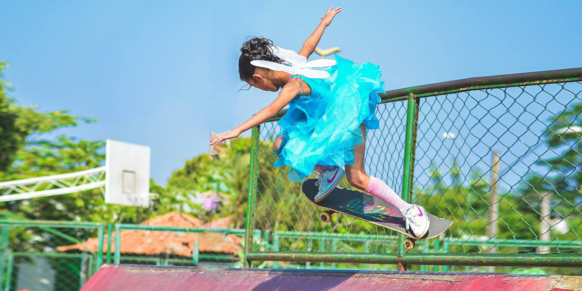 8 Years Old Talented Skateboarder Girl – Rayssa Leal