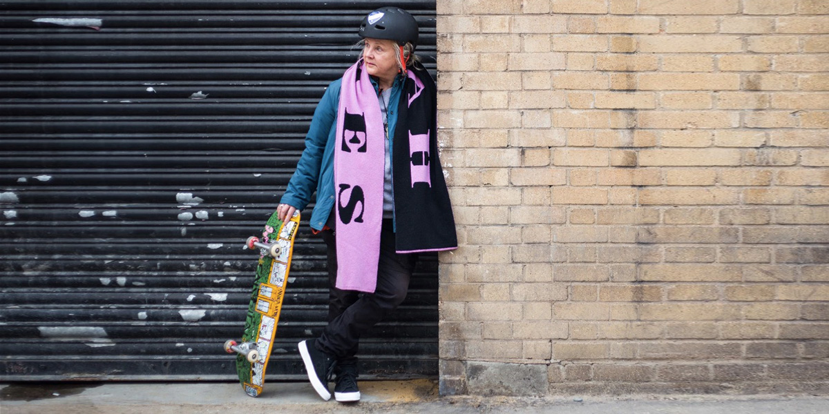 Lena Salmi – The Woman Who Started Skateboarding at 61