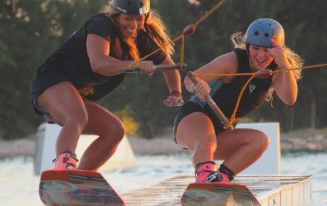 First Time At the Cable Park - WakeSista