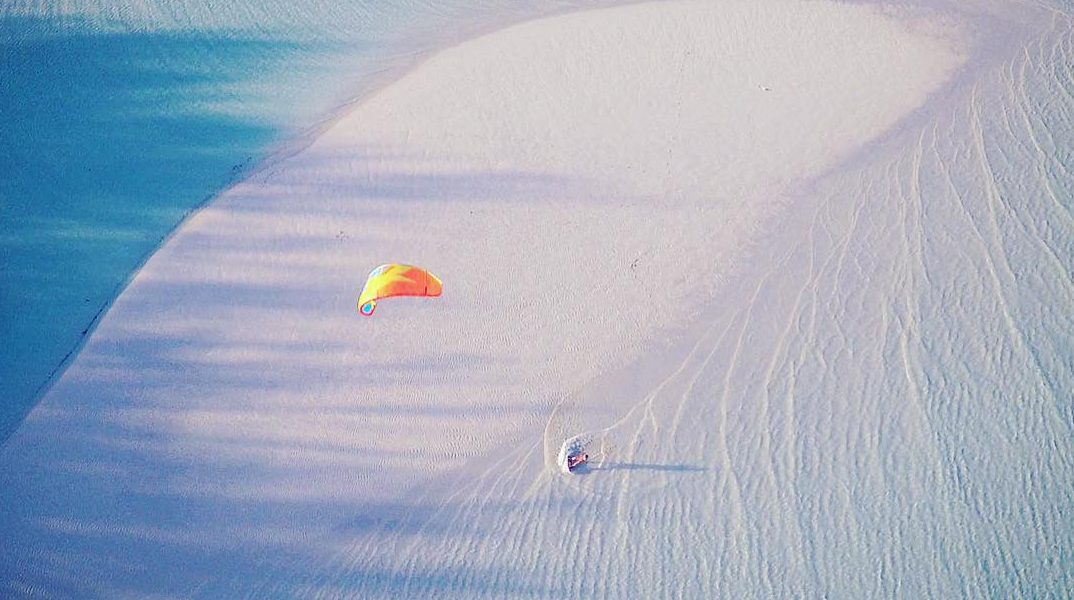 Is this Kitesurf Paradise? – Charlotte Consorti in Exuma