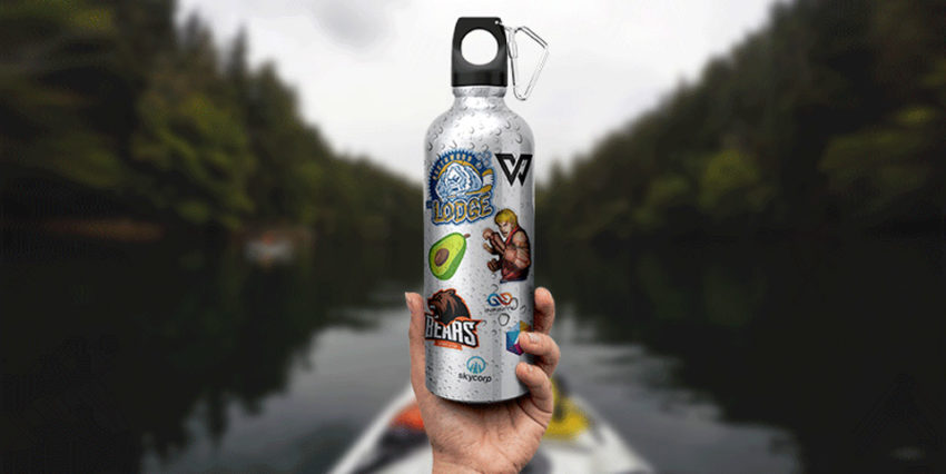 Custom Waterproof Stickers – StickerYou