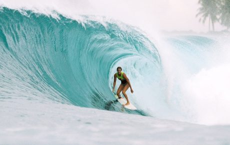 Steph Gilmore's Surfing Beats Those January Blues